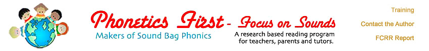 Phonetics First Logo
